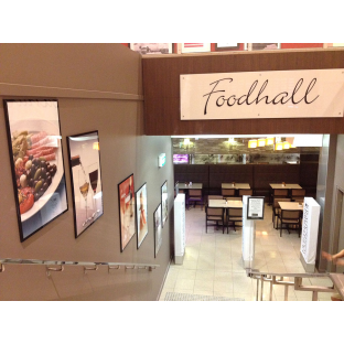 David Jones Foodhall interior retail wayfinding shop signage