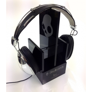 Skullcandy acrylic point of sale internal retail shop signage