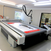 Our machines produce high-quality, large format prints on any media instantly